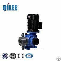mechanical diaphragm valveless metering pump
