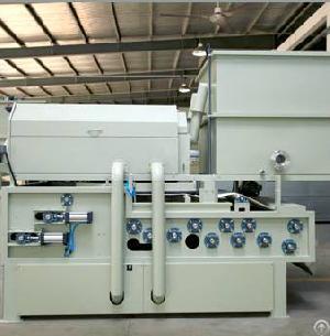 sewage belt press lime sludge dewatering equipment