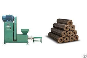 energy mechanism charcoal briquette extruder machine