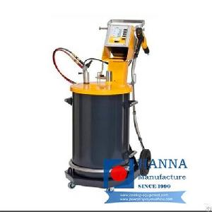 electrostatic powder coating machine spraying line
