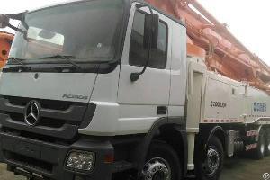 zoomlion 56m concrete boom pump