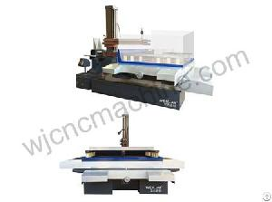 dk77100b cnc electric spark wire cutting machine tool
