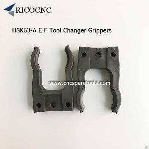 hsk63 tool clips hsk63e changer grippers sk40 forks atc