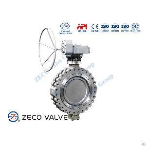 offset butterfly valve