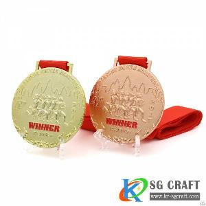 High Quality Custom Memorial Medal For Blank Award