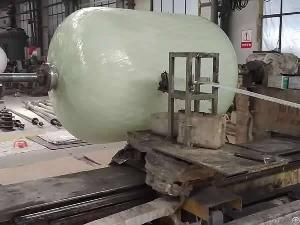 Water Treatment Pipe And Tank Winding Machine
