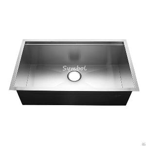 undermount stainless kitchen sink ledge