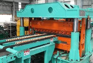 hydraulic steel coil slitting line machine cut