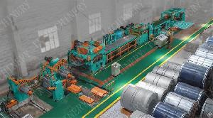 frequency steel sheet coil cut line