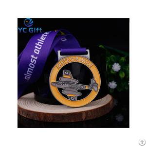 soft enamel medal