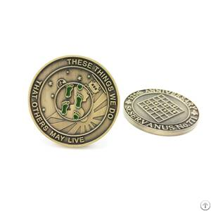 Sports Meeting Metal Coin