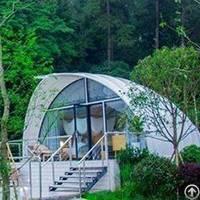 cocoon tent house luxury resort