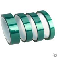 High Temperature Green Pet Tape Made With Polyester And Silicone Adhesive For Powder Coating