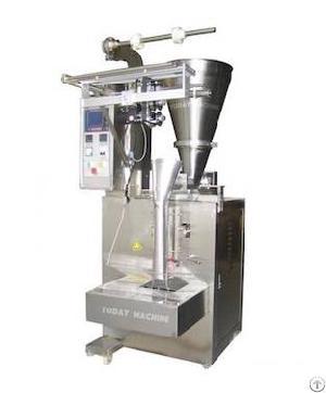 milk wheat flour powder packaging machine�with auger system