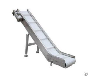 Tilted Belt Conveyor For Breads, Instant Noodles, Rice Noodles