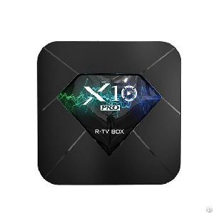 r tv box x10 pro amlogic s905x2
