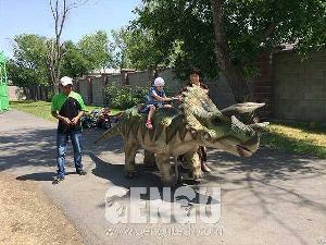 triceratops walking ride ar 97