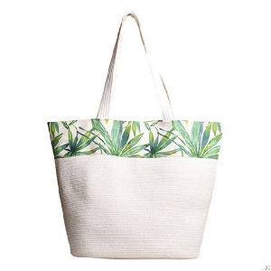 printed paper tote bag