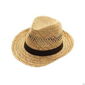 mat grass straw hat