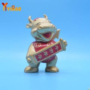 animal cow abs action figure