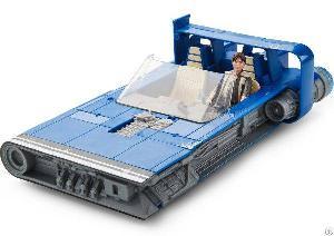 star wars han solo story vehicle landspeeder force link 2 0 action figure