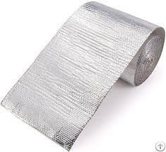 aluminized silica heat shield barrier