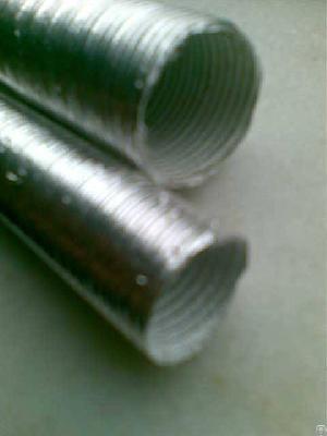 aluminum fiberglass front intake air duct drain hose automotive heat shield