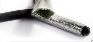 aluminum heat reflective fiberglass sleeving