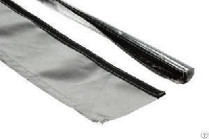 aluminum kevlar aramid sleeve velcro