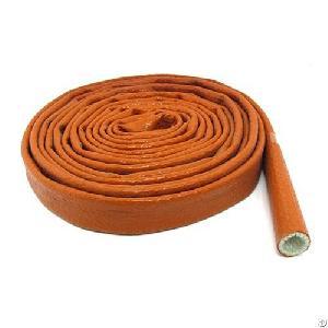 fire retardant silicone fiberglass hose sleeve