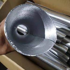 heat reflective aluminum foil corrugated pipe