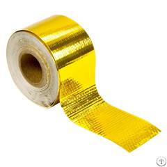 Heat Shield Adhesive Backed Gold Heat Reflective Tape