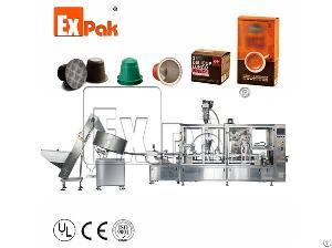 coffee capsule packaging machine