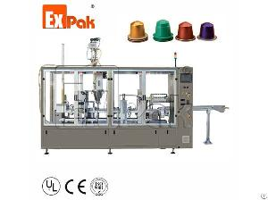 nespresso filling machine