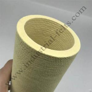 Needle Punching Seamless 6mmhigh Temperature Resistant Pbo Roller Cover Sleeves