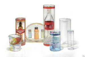 clear plastic tube round packaging