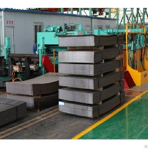 Middle Gage Steel Cut To Length Line