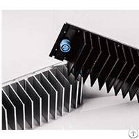 cnc milling extruded aluminum flexible heat sink
