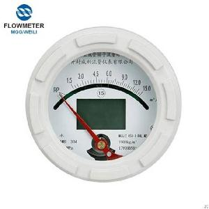 hart intelligent variable metal tube rotameter water flow meter