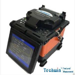 Techwin Handheld Fiber Fusion Splicer Tcw-605e For Telecommunication Network Program