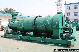 combined organic npk fertilizer granulator