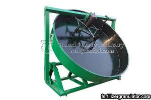 disc granulator pan granulation machine