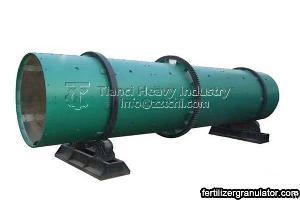 rotary drum granulator machine