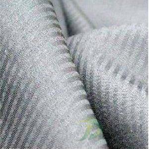Cotton Herringbone Dyed Fabric