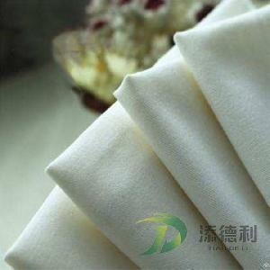 polyester twill bleached fabric
