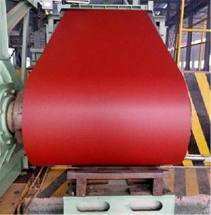 Red Pre Painted Galvanized Steel Coil 1.2 1010mm