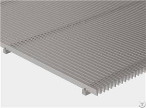 flat wedge wire panel filtering screening