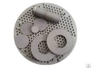 multi layered sintered filter disc