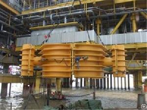 jz9 3 oil field platform anti icing fabrication installation 2009
