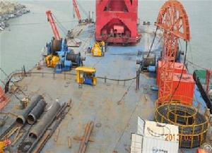 sinochem quanzhou petrochemical submarine offshore cable laying 2013